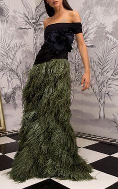 Johanna Ortiz Pachamama Feather Skirt $2,800