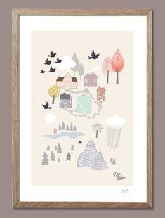 Pastel farver – Flotte plakater i pastel farver. Viola Brun. San Junipero, Blood Moon, Bloom, Collage, Pastel, Butterfly, Inspiration, Illustration, Design
