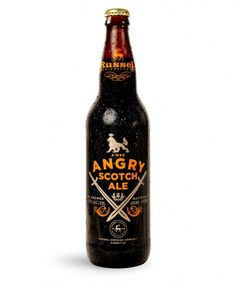 A Wee Angry Scotch Ale Designed by Atmosphere Design