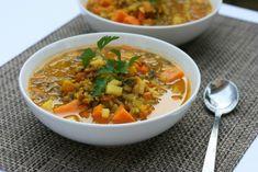 Vegetable Lentil Soup [V, GF] | One Green Planet