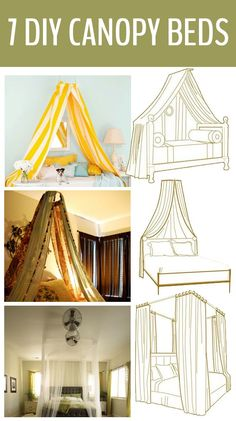 DIY Canopy Beds