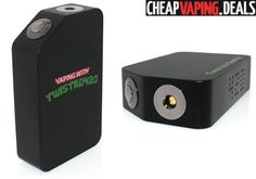 Here's an awesome deal on the brand new Twisted420's Twisted Triple Mechanical Box Mod By Wotofo. Get it cheap.