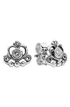 PANDORA 'My Princess' Stud Earrings