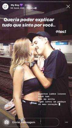 Story Instagram, Instagram Blog, Girl Photo Poses, Girl Photos, Love Couple, Couple Goals, Future Boy, Intense Love, Love Text