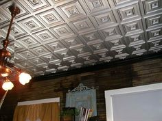 The Advantages Using Plastic Ceiling Tiles Chic That Look Like Tin