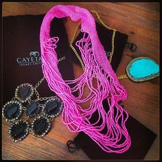 Super Statement accessories by Cayetano Legacy Collection.  www.cayetanolegacy.com