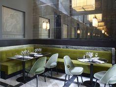 VISUELLE: Monsieur Bleu restaurant by Joseph Dirand, Paris