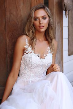 71047b75994b serina madi lane bridal australia luv brisbane aline tulle lace wedding  dress