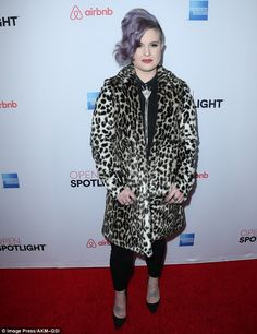 Wild about fashion! E! Fashion Police star Kelly Osbourne who stood out from the crowd in ...