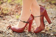 viper heels. nice!