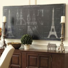 Diagramme de L'Elevation  Eiffel Tower Image by Artist Samantha Carlisle   ~ Love this it would go great in my entry!! :)