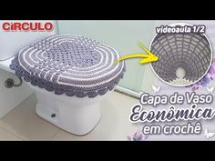 Bathroom Ensembles, Crochet Designs, Crochet Hats, Make It Yourself, Crafts, Diy, Youtube, Carla Cristina, Bathroom Mat