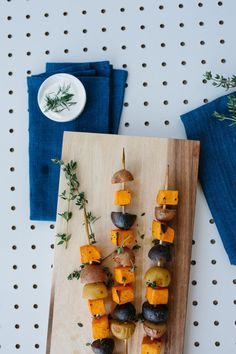 Recipes || Roasted Root Veggie Skewers || Perfect for a Thanksgiving Menu or Healthy Appetizer!