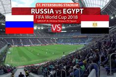 Here you can watch Russia vs Egypt FIFA World Cup 2018 match HD telecast online  live 835e6faf2f11a