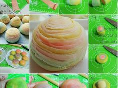 Mooncake Recipe, Brownies From Scratch, Asian Desserts, Moon Cake, Cake Cookies, Amazing Cakes, Spiral, Cake Decorating, Unicorn