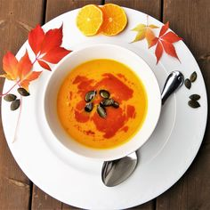 It is getting colder, which means it's time to curl up with some homemade soup. Try and make it gourmet with our Pumpkin Truffle, Orange and Sweet Potato soup. Its #glutenfree, #vegan and perfect for two!