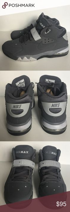 Nike Air Force Max Charles Barkley men's size 11 Nike Air Force Max Charles Barkley men's size 11. Great shoe. Worn lightly in a office 2x. Nike Shoes Athletic Shoes