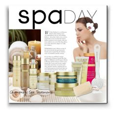 """""""Spa Day with Champneys Spa Treatments"""" by fashionistamummy83 ❤ liked on Polyvore featuring beauty, Urban Spa and spaday"""