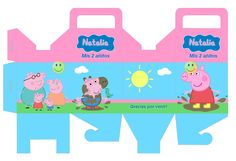 Kit Imprimible Peppa Pig Tarjetas Candy Bar Imagenes - $ 39,99 en MercadoLibre