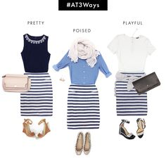 Stripe Pencil 3 Ways