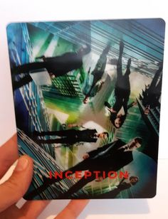 Inception Magnet 3D lenticular Flip effect for Steelbook