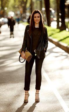 Barcelona Street Style via Vogue es2
