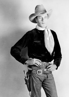 Gary Cooper in The Last Outlaw, 1927