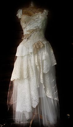 Ethereal gown by NaturallyBohemian