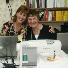 Futura seminars from the past at Jenny's Sewing Studio show we have some great fun while learning to use the embroidery machine.