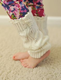 Dottie Couture Boutique -  Boot Warmers- Ivory (Kids), $20.00 (http://www.dottiecouture.com/boot-warmers-ivory-kids-1/)