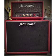 """Artesound TestataRossa head + cabinet 1x12"""""""