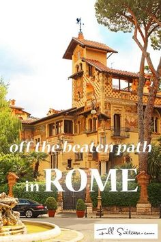 Find out about some of the less-known amazing places in Rome that most tourists never see. Top experiences, all within walking distance from the city centre. Read it and save it for later because one day your road will lead to Rome too!