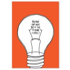 How many lightbulbs by Green Peace