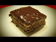 Tarta de Galleta y Chocolate | Receta Facil - YouTube
