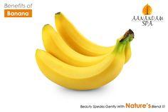 Benefits of #Banana Anti ageing Natural moituriser Curbs morning sickness.