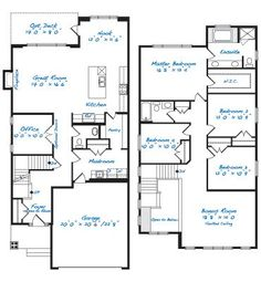 dream home on pinterest floor plans home plans and