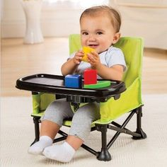 Summer Infant Pop 'N Sit Portable Infant Booster Seat - Gree.- Summer Infant Pop 'N Sit Portable Infant Booster Seat – Green Summer Infant Pop & Sit Portable Infant Booster Seat – Green - Toddler Travel, Baby Necessities, Baby Hacks, Summer Baby, Cool Baby Stuff, Kid Stuff, Baby Feeding, Future Baby, Baby Items