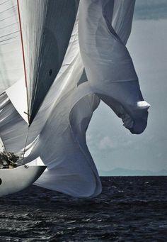Billowing Sails - Rolex Cup 2007