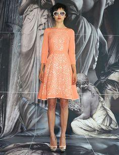 Peach Cut Out Dress | Giles | Avenue32