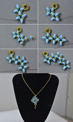 Like this beaded pendant necklace? LC.Pandahall.com will release the tutorial.