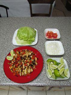 Talapia Lettuce Wraps!