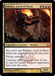 Rakdos, Lord of Riots
