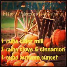 Fall Hayride. Scentsy Mix It Up www.CarleyFruish.scentsy.us 3 bars for $14 6 bars $25