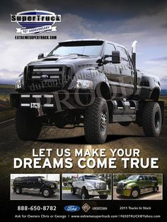 4x4 F650 extreme supertruck Package