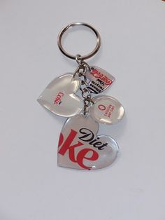 Pop can key chain (tutorial).this one has the link to the tutorial.