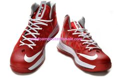 Lebron James 10 Lebrons Sport Red White 541100 166  Red  Womens  Sneakers  Lebron 623f3b64fc41
