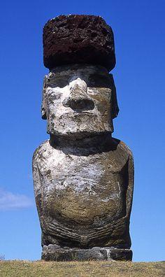 Moai Nr. 2 von 15 - Bild & Foto von Rudolf Mester aus Osterinsel/Rapa Nui - Fotografie (30066010)   fotocommunity