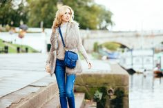 British blue just for you. Hands free and made with luxury leather the Betty small satchel is a great winter shopping pick! www.bettyandbetts.com/shop