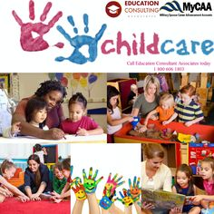 Want a rewarding career with just doing what you love? Be a Child Day Care Specialist in just 9 months. Good news! Open to military spouses who are married to active duty service members ranked of E5 and below, W1-W2 and O1-O2. MyCAA approved! Earn a certification at your own pace and learn the techniques for supporting child's development and become a young children educator.  For more information, please send me a message or add our Skype ID: eca.benefitssupport.