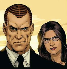 Norman Osborn and Victoria Hand by Carlo Pagulayan